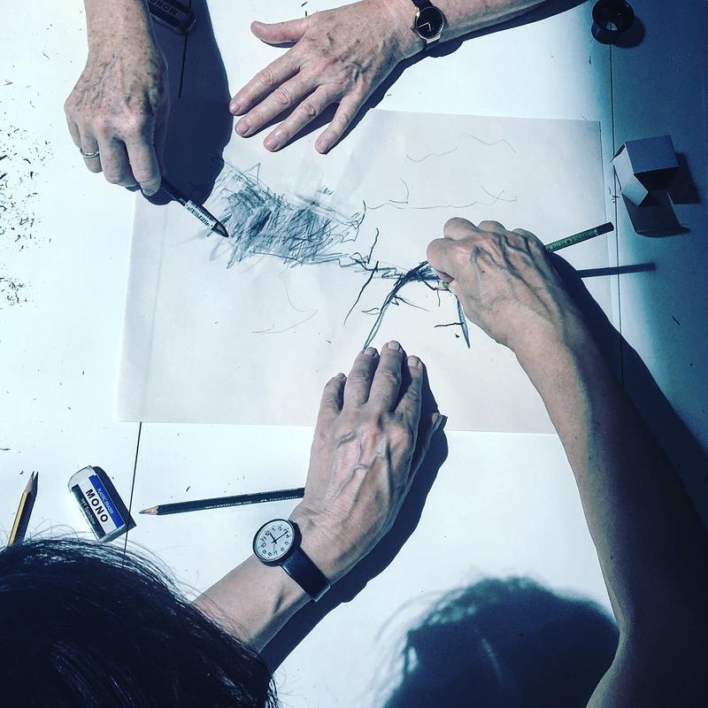 hands-sketching