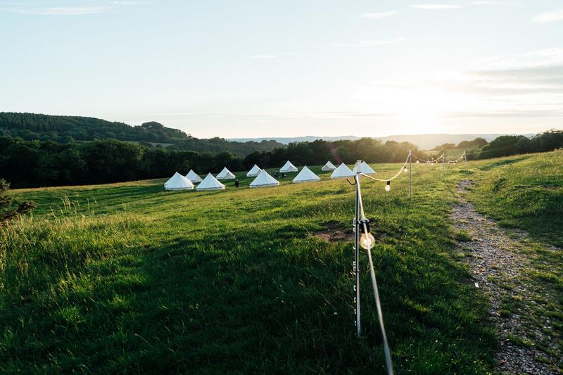 tents-in-sunset