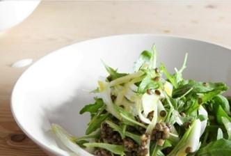 rocket-and-lentils