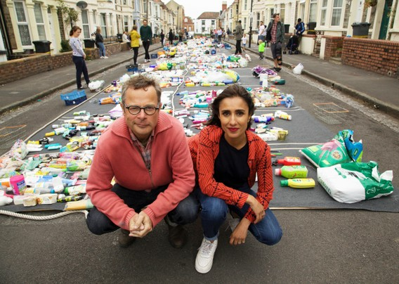hugh and anitas war on plastic