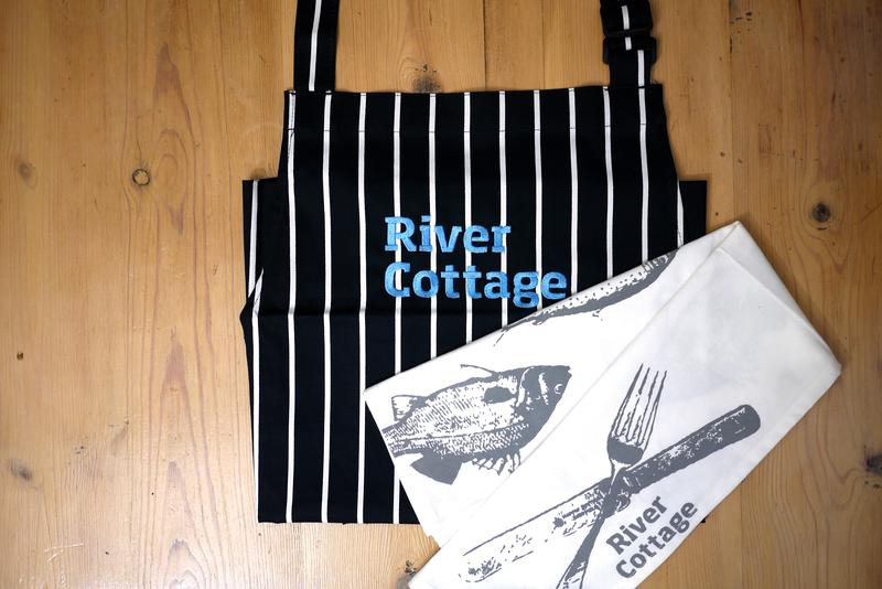 Tea towel and apron pack