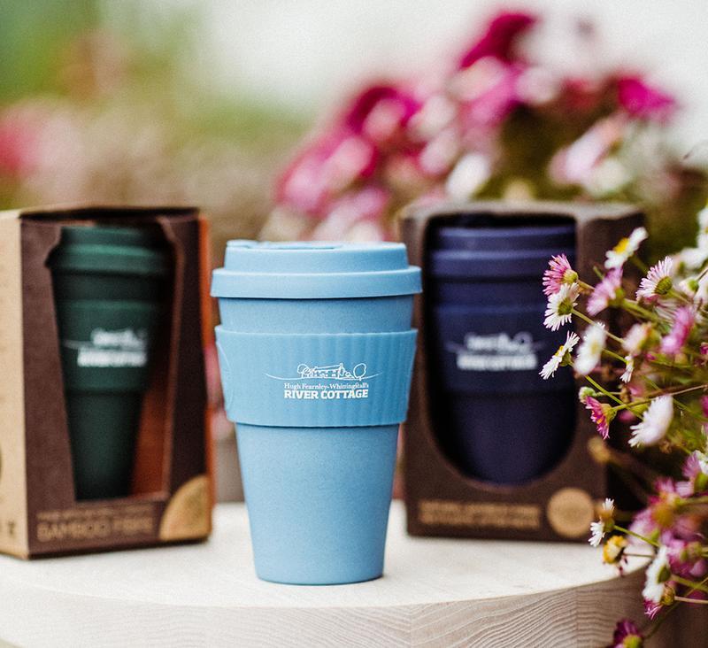 E Coffee Cup,  Light Blue,  14oz