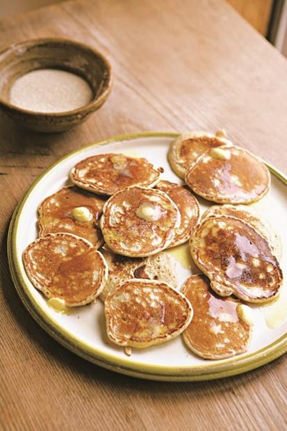 Wholemeal drop scones