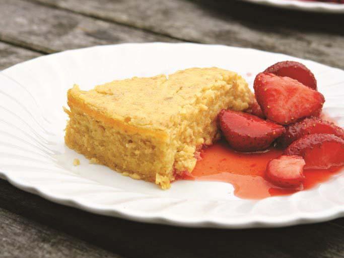 Baked breakfast cheesecake