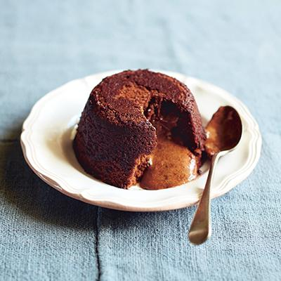 Chocolate and chestnut fondants