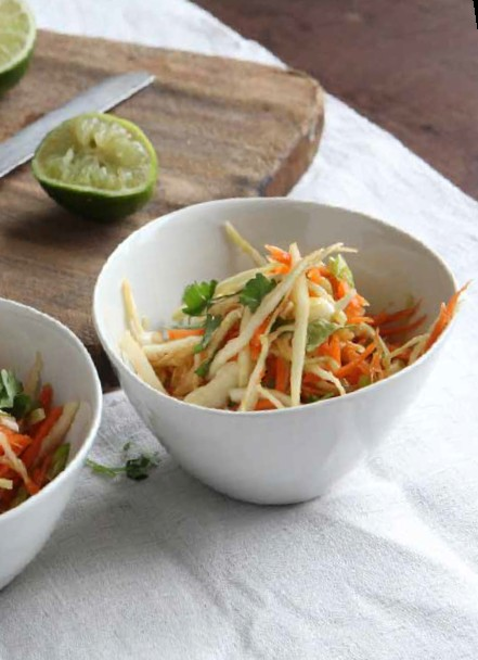 Asian-inspired coleslaw