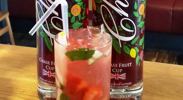 Chase Summer Fruit Cup - Cocktail