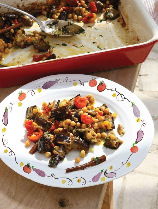 Aubergine recipes for Pomegranate molasses sainsburys