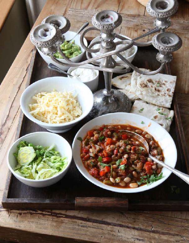 Pinto bean chilli