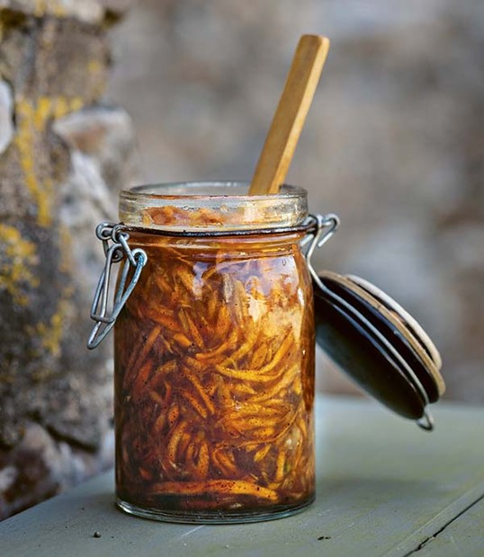 Honey-Fermented Carrot Jam