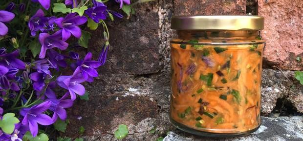 Springy Carrot Krautchi