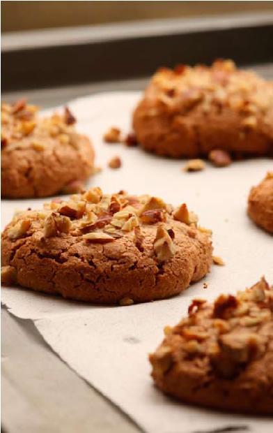 Chestnut macaroons