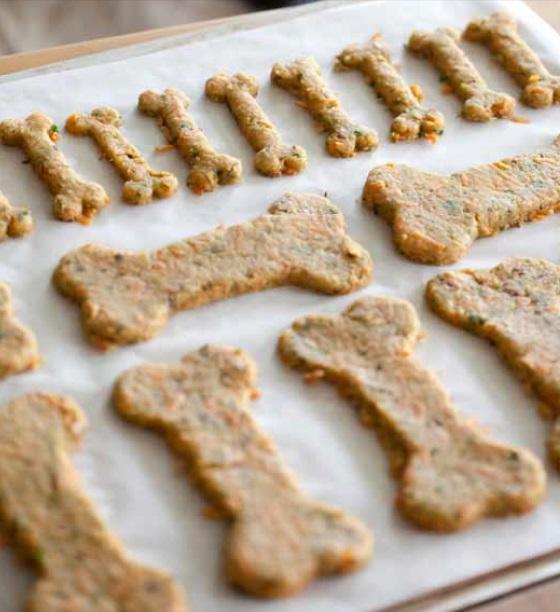Dog bone biscuits