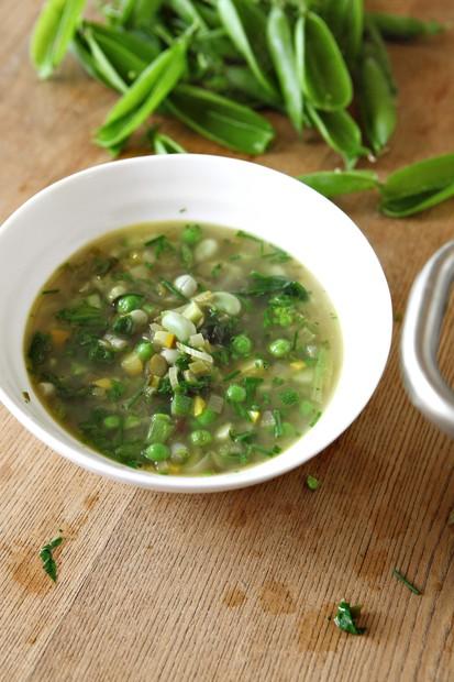 River Cottage summer garden soup