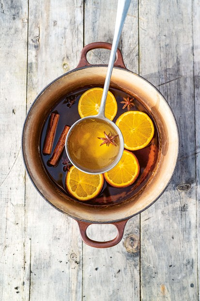 Lucy's Mulled Cider
