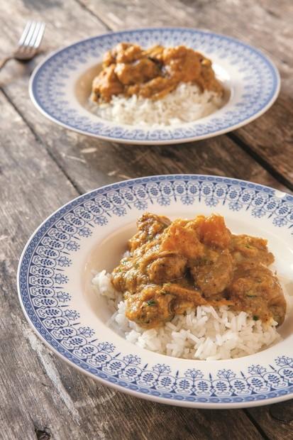 Pork and pumpkin curry