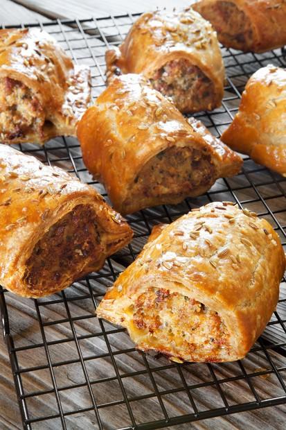 Big sausage rolls