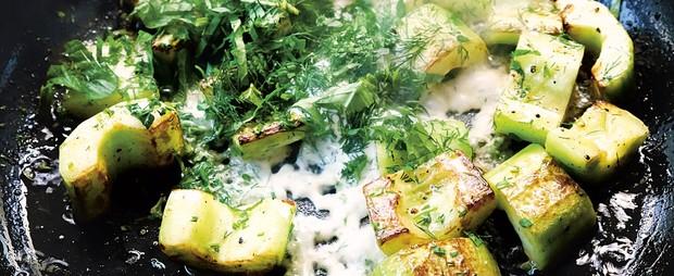 Sautéed Cucumbers