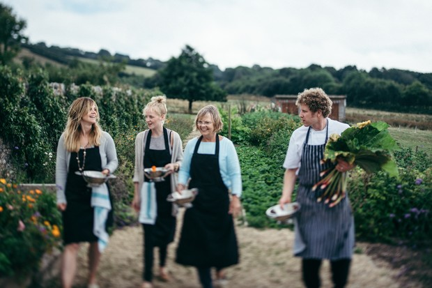 Farm, forage, cook and eat!