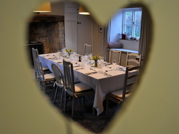 Dine in our famous Farmhouse