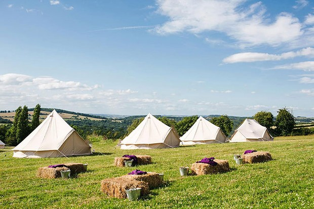 'Glamping' at River Cottage
